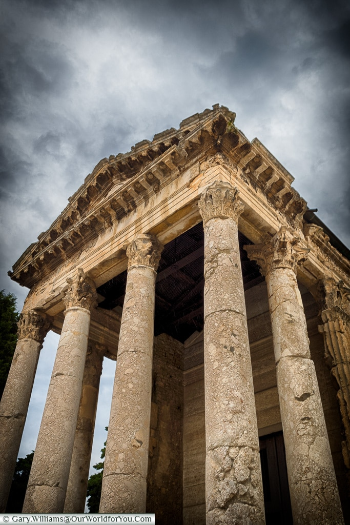 The Temple of Augustus,Pula, Croatia