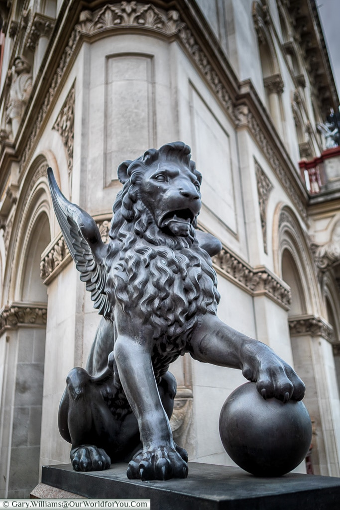 The Winged Lion, City of London, London, England, UK