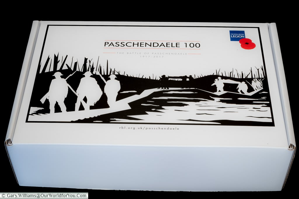 The box the Passchendaele Pin comes in