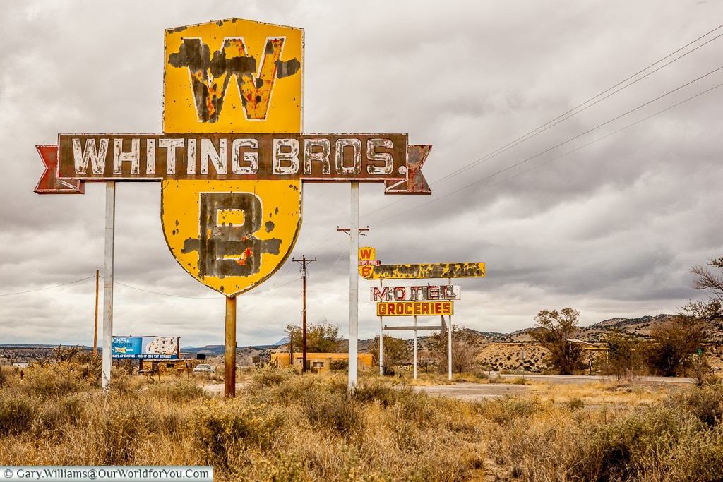 Old Route 66 - this so reminds me of the Disney movie Cars