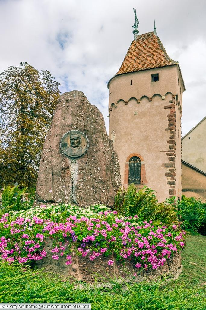 The Tour d enceinte, Obernai, Alsace, France