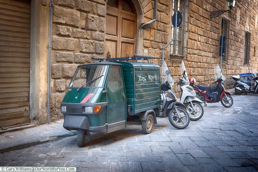 A symbol of urban Italy, Florence, Tuscany, Italy