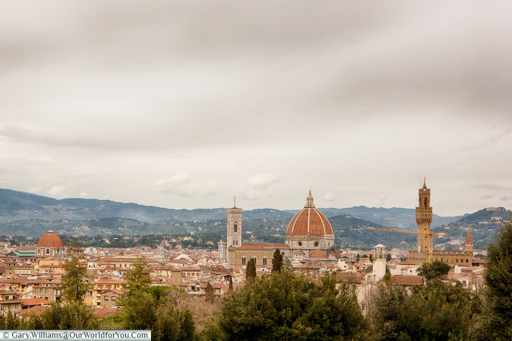 A view over Florence, Tuscany, Italy