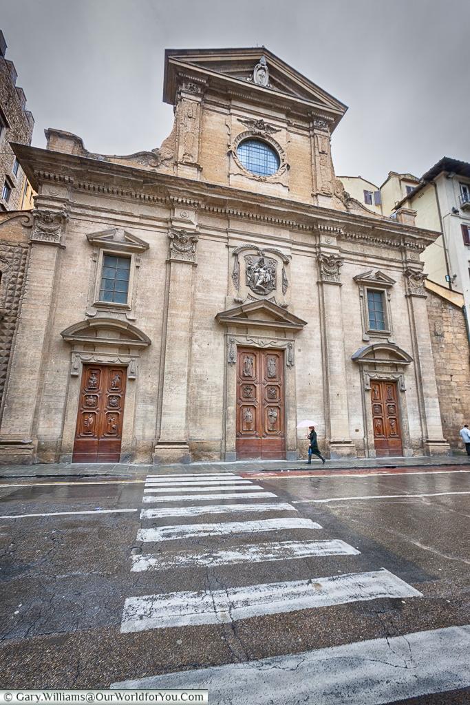 Basilica di Santa Trinita, Florence, Tuscany, Italy
