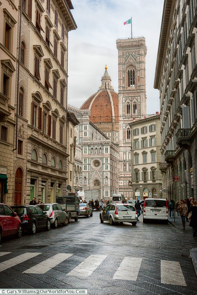 Leading to the Cathedral, Florence, Tuscany, Italy