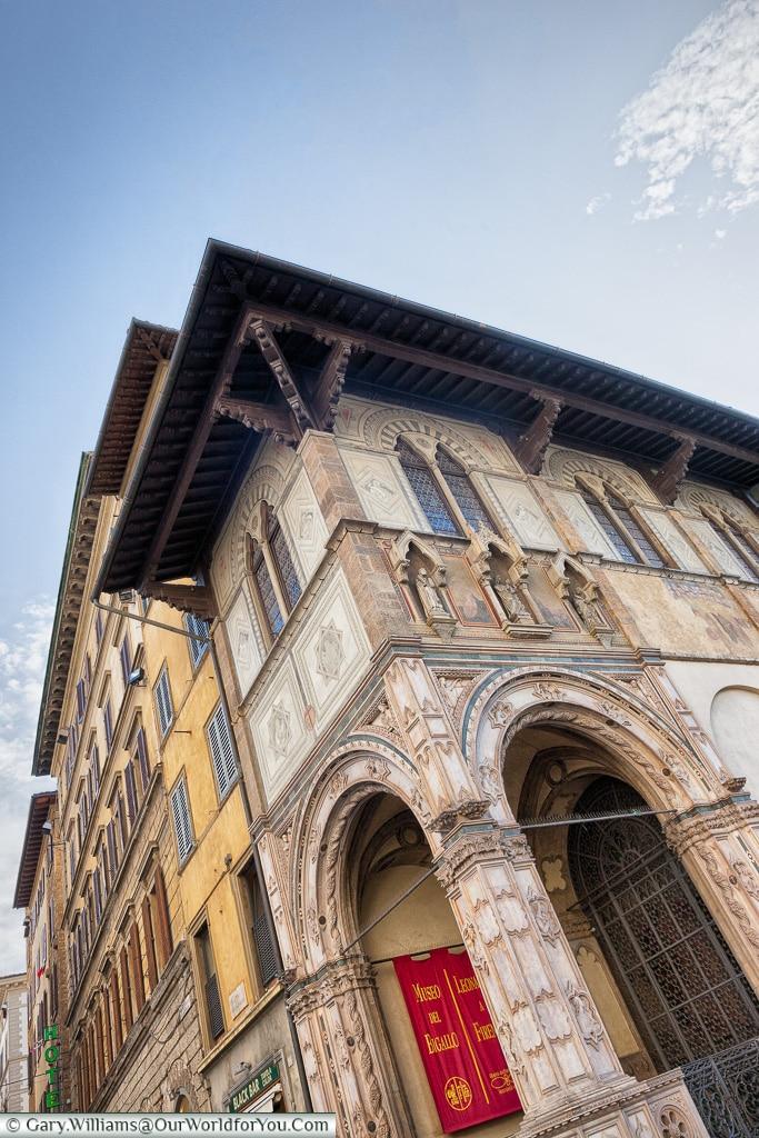 Loggia del Bigallo, Florence, Tuscany, Italy
