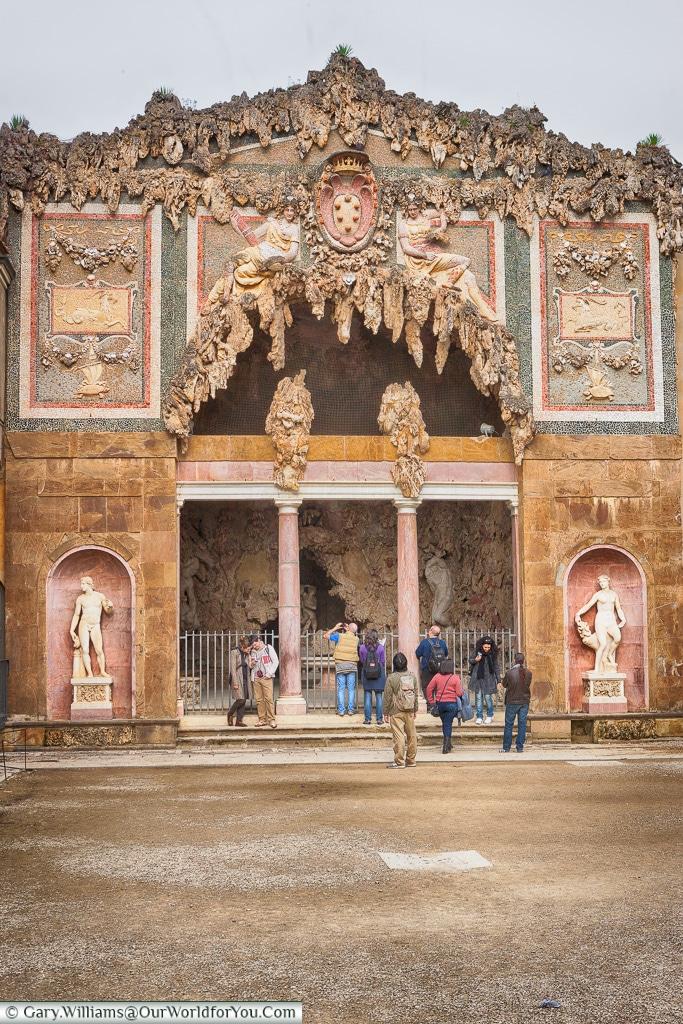The Grotta del Buontalenti, Florence, Tuscany, Italy