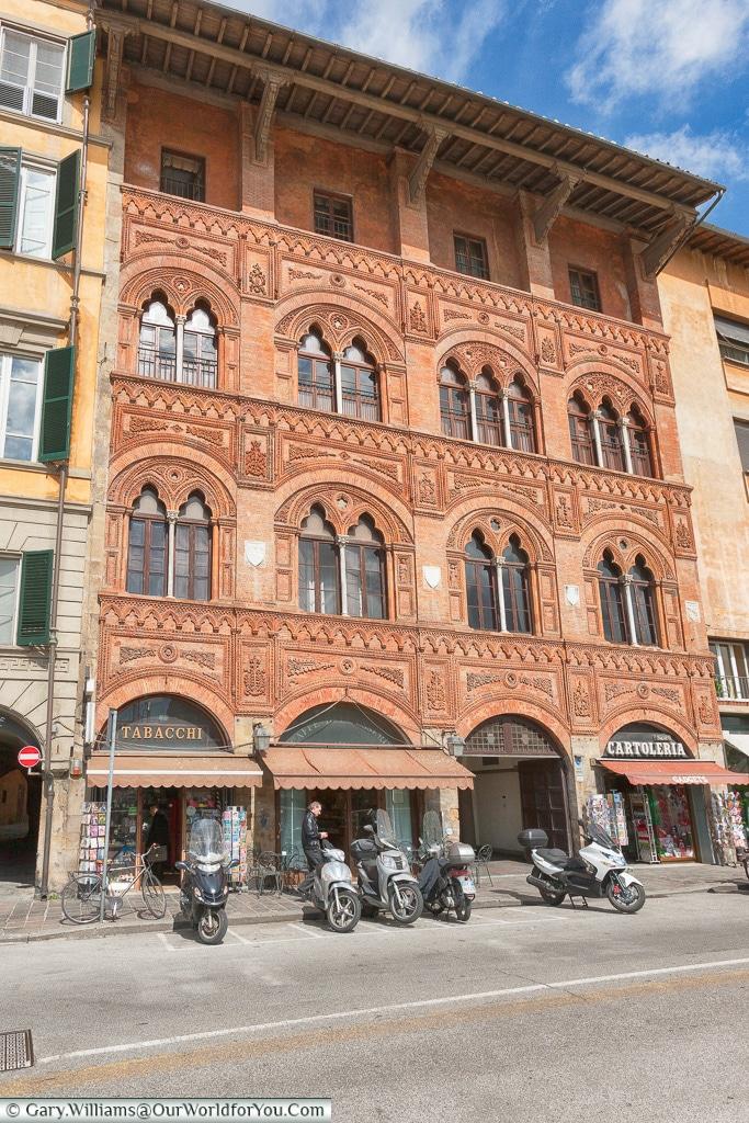 The Palazzo Agostini, Pisa, Tuscany, Italy