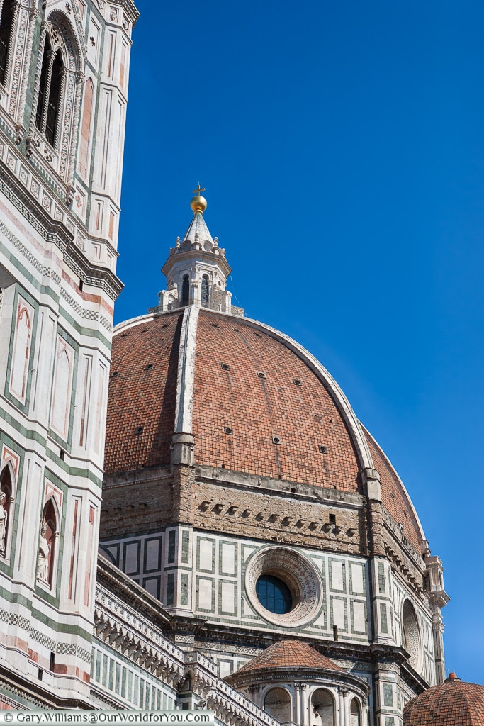 The dome of the Cathedral, Florence, Tuscany, Italy