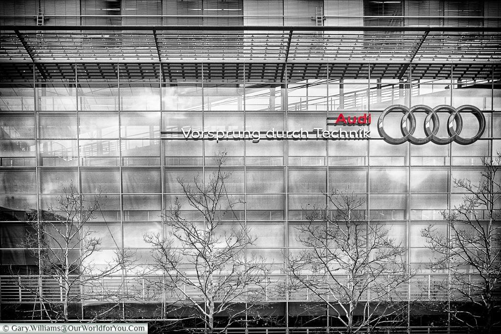 Audi - Vorsprung durch Technik, Audi Museum, Ingolstadt, Germany