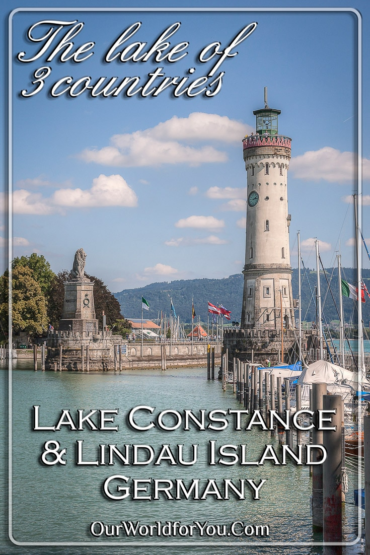 The lake of 3 countries, Lake Constance & Lindau Island