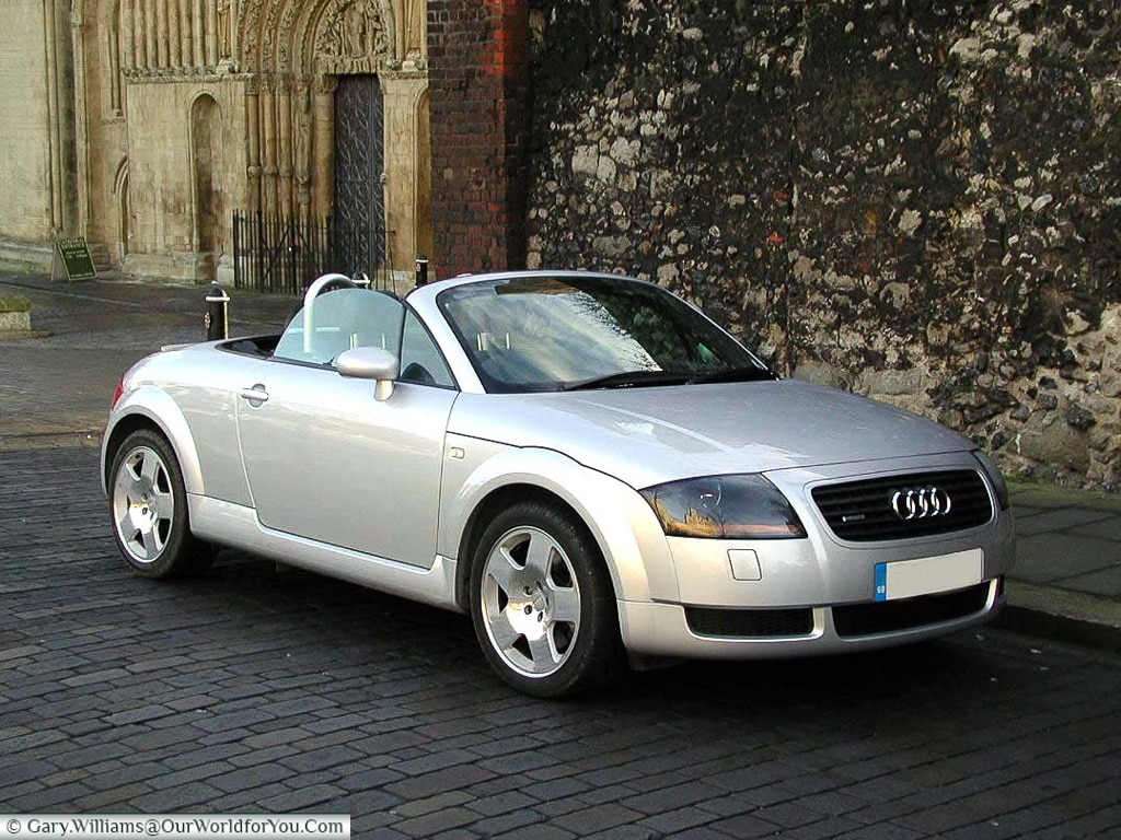 My first Audi - back in 2001