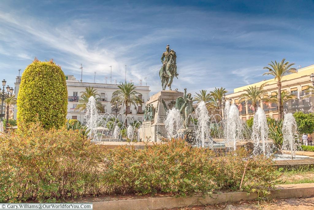 Plaza del Arenal, Jerez, Spain