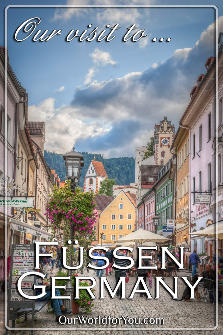 The Pin image for our post - 'Füssen, Bavaria, Germany'