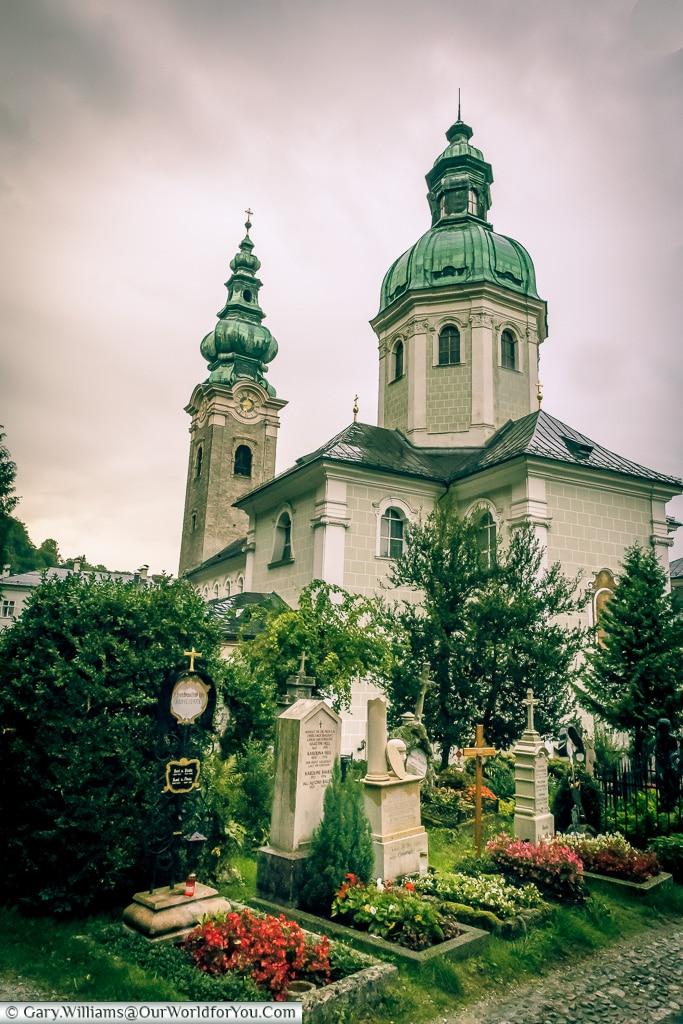 St Peter's Abbey, Salzburg, Austria