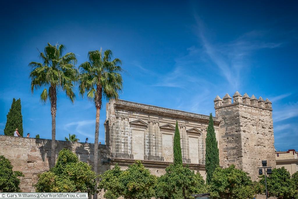 The Alcazar walls, Jerez, Spain