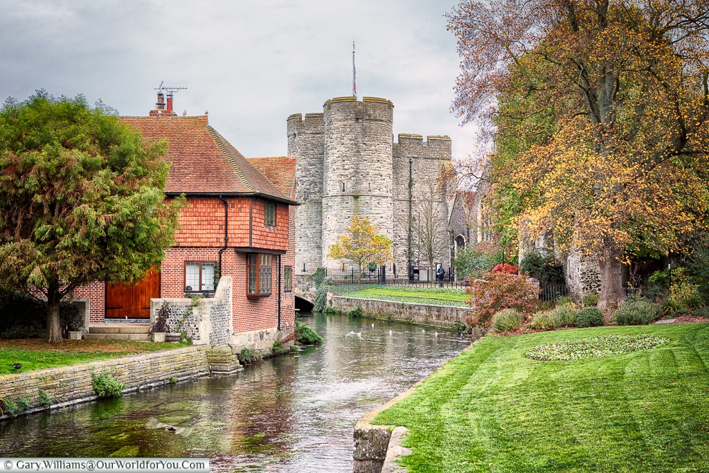 The Great Stour, Canterbury, Kent, England