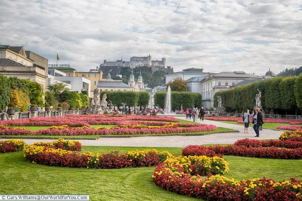 The Mirabell Palace Gardens, Salzburg, Austria