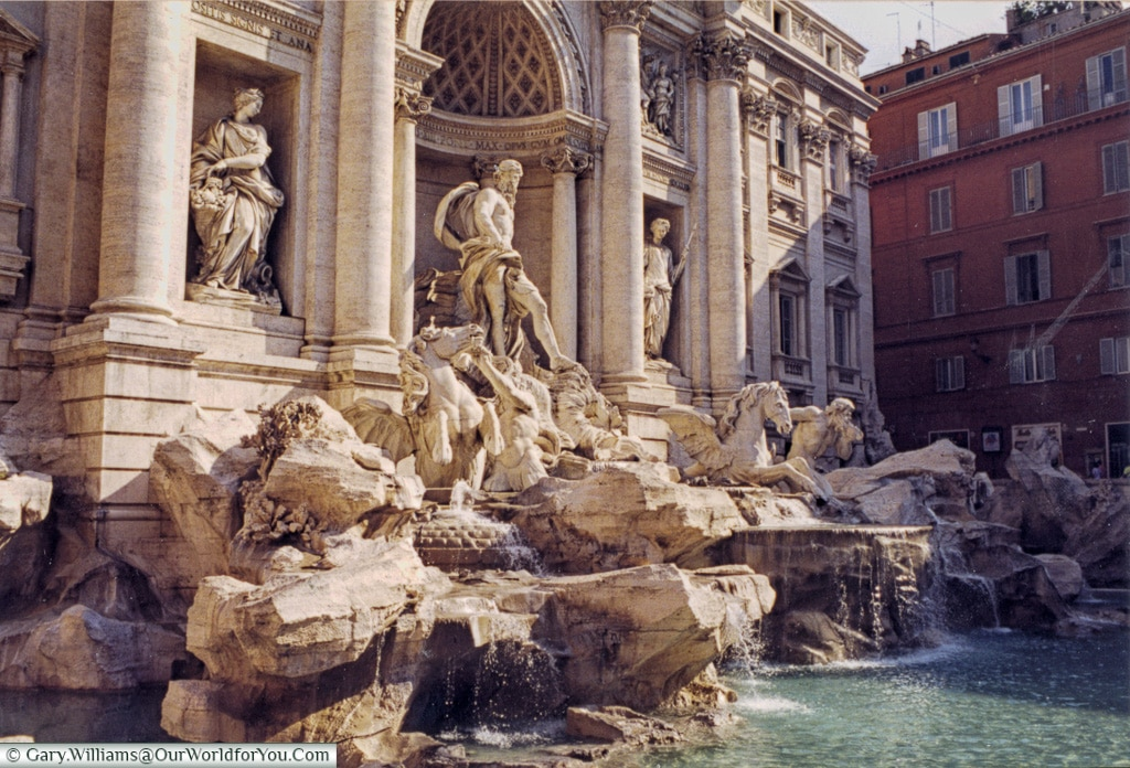 The Trevi Fountain, Rome, Italy