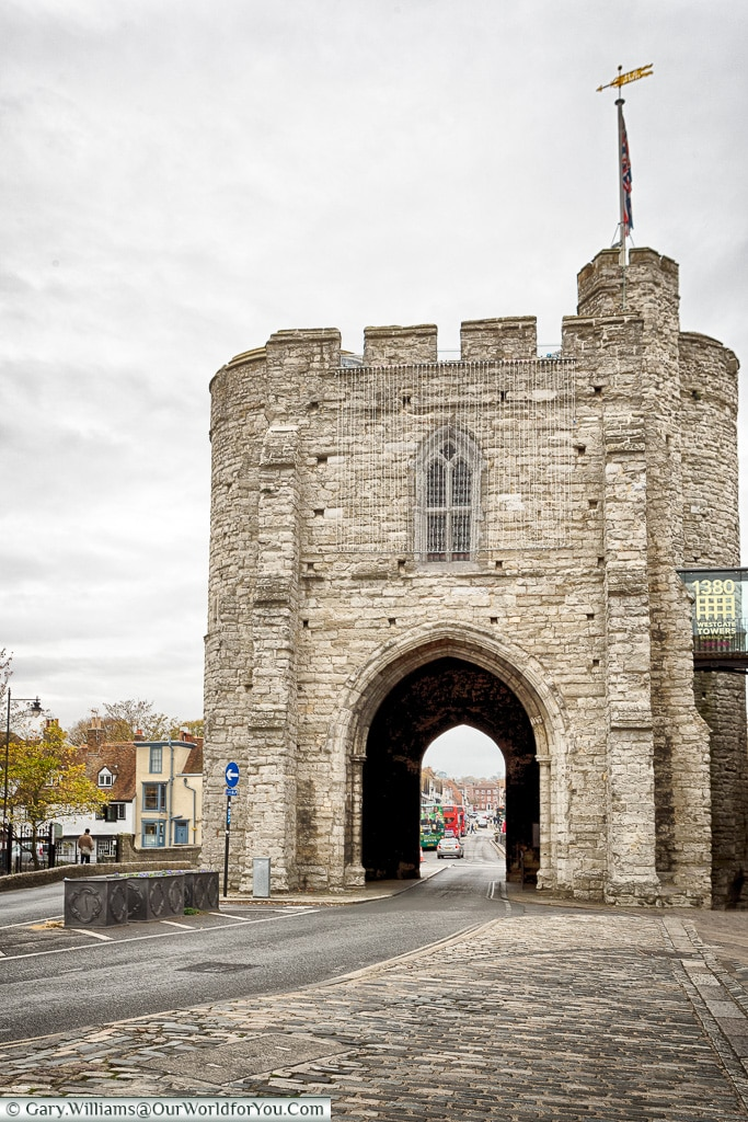 The West Gate, Canterbury, Kent, England, UK