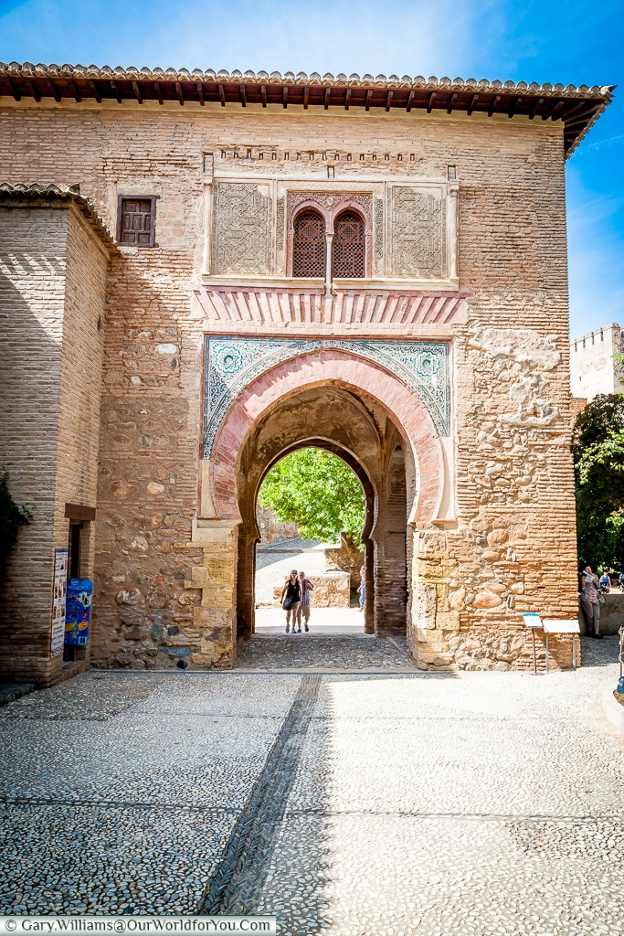 A Moorish gateway, Granada, Spain