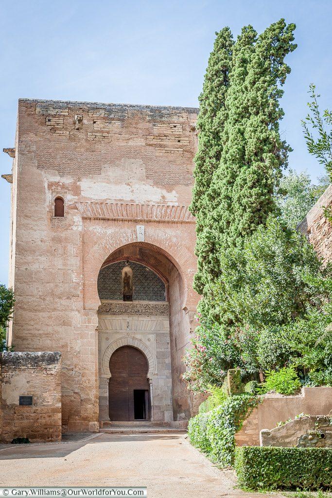 An arch within an arch, Granada, Spain