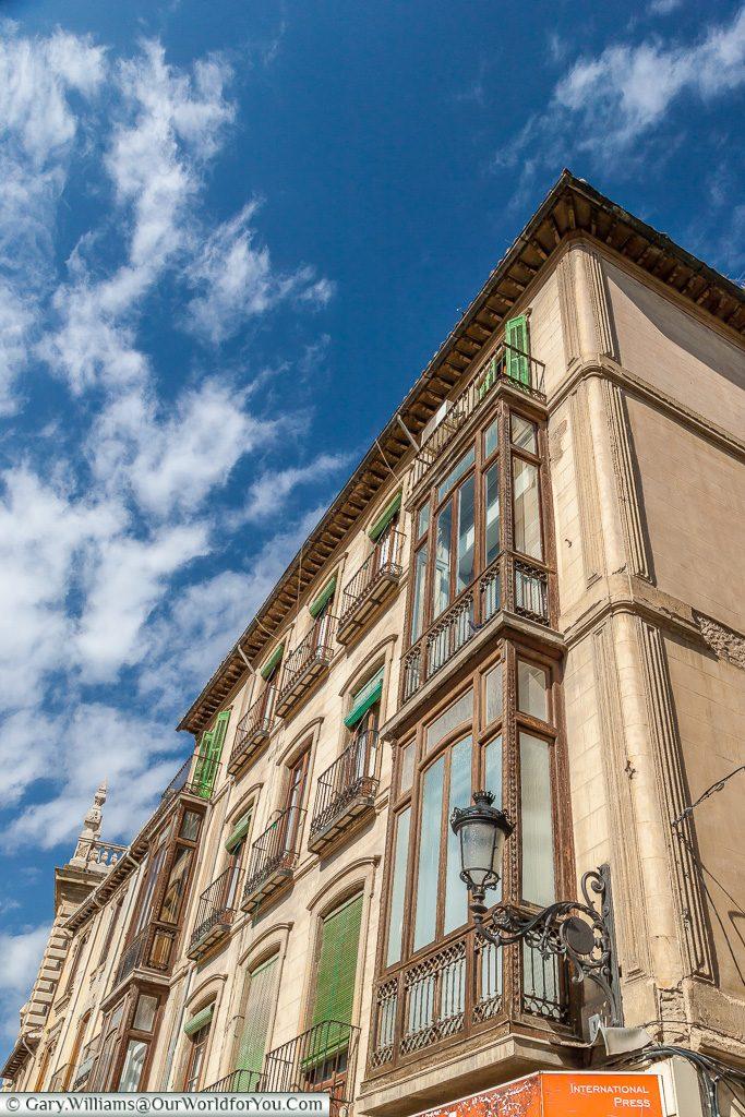 Apartments on Plaza de Santa Ana, Granada, Spain