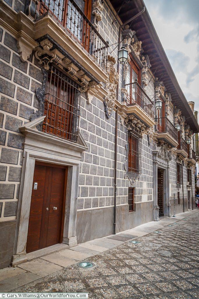 Calle Oficios, Granada, Spain