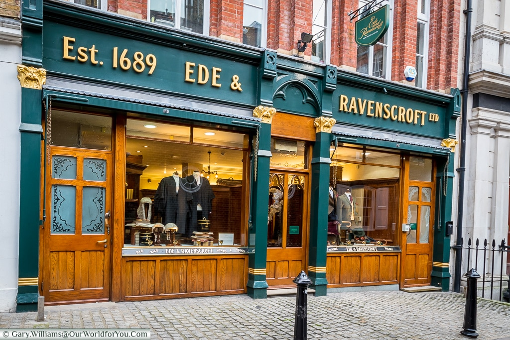 Ede & Ravenscroft Ltd, London, England, UK