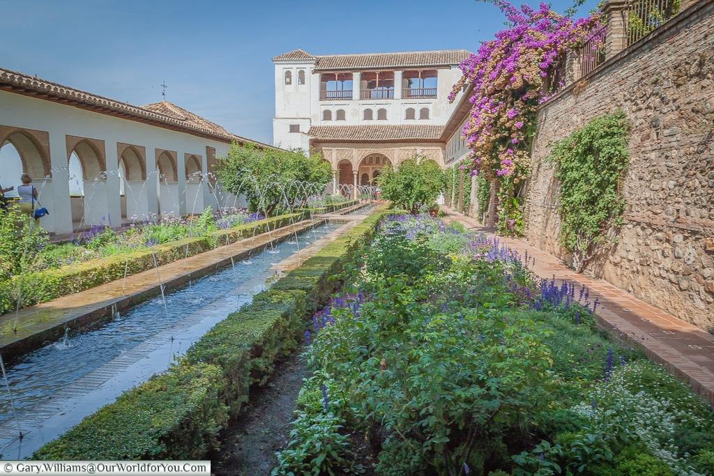 Jardines del Paraiso, Granada, Spain