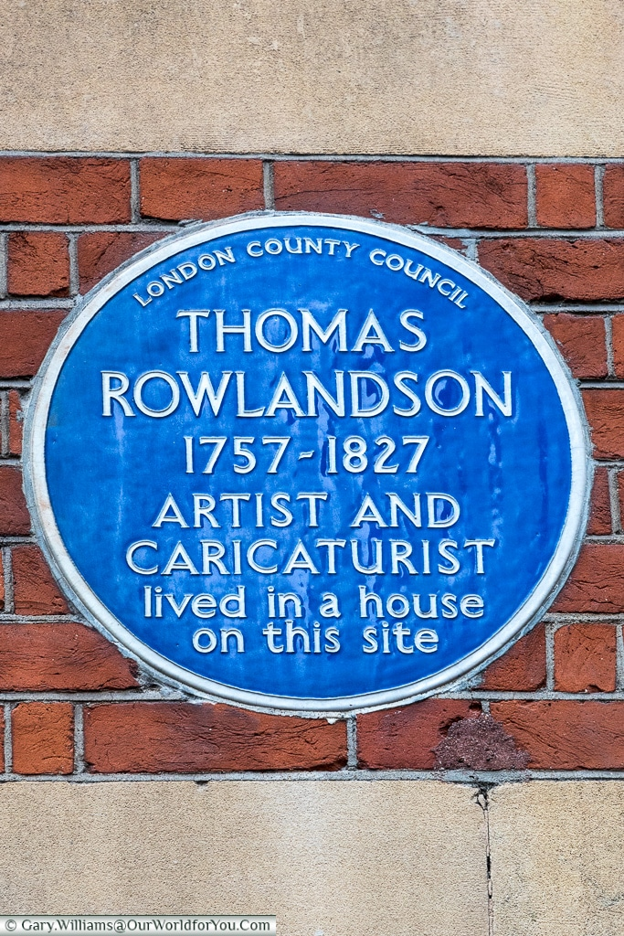 Many different individuals remembered, Blue Plaques, London, England
