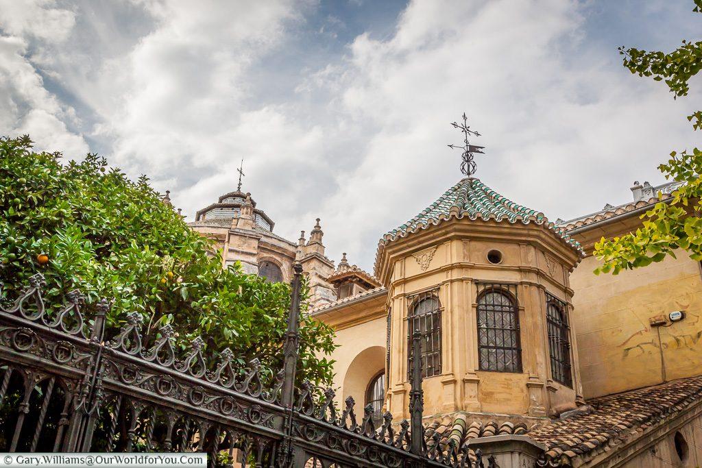 Ornate styling, Granada, Spain