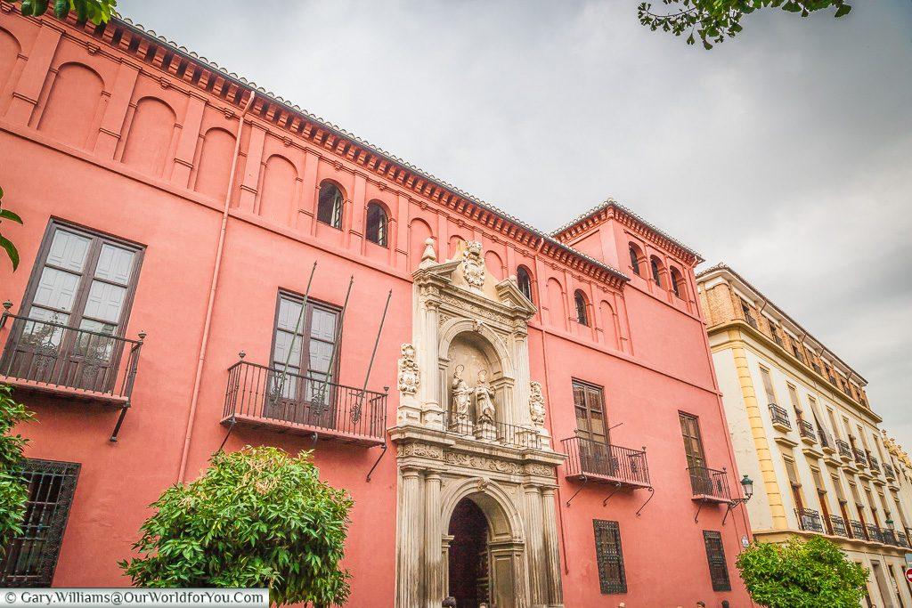 Royal College of San Bartolomé and Santiago, Granada, Spain