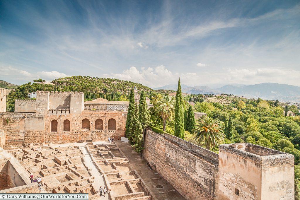The Alcazaba, Granada, Spain