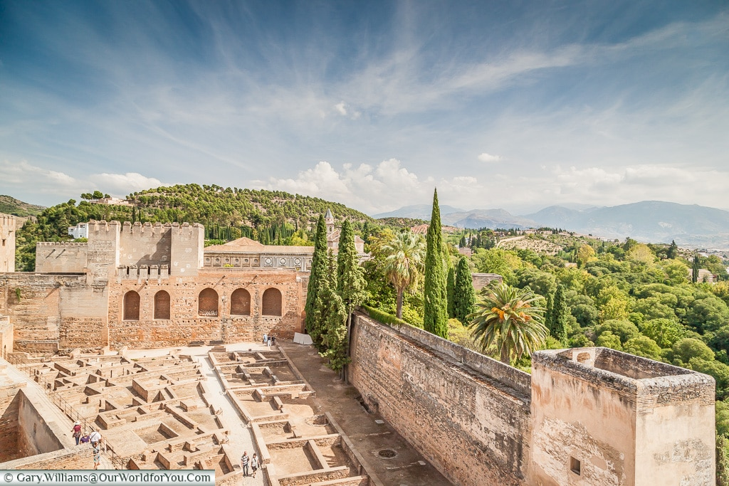 The Alcazaba, Granada, Spain