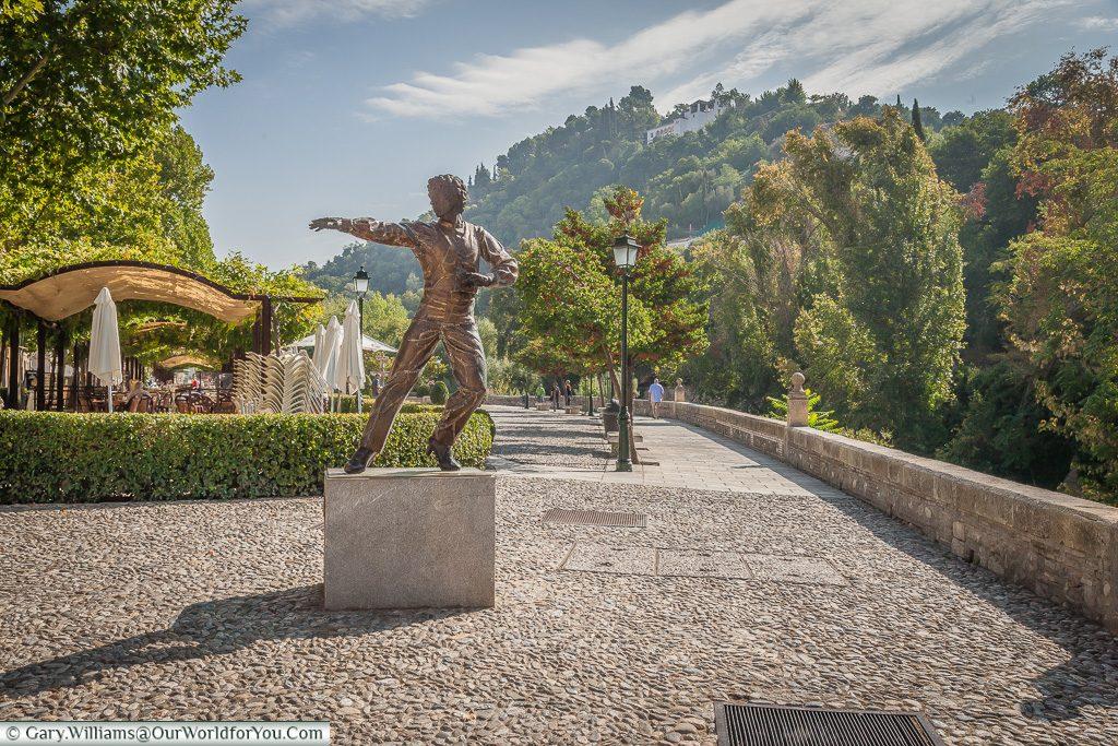 The Flamenco Dancer, Granada, Spain