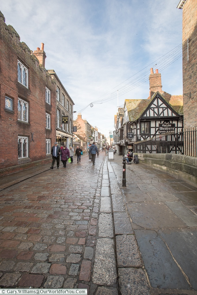 The High Street, Canterbury, Kent, England