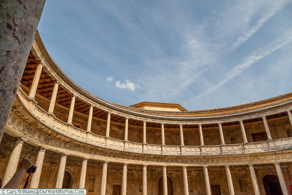 The Palace of Charles V, Granada, Spain