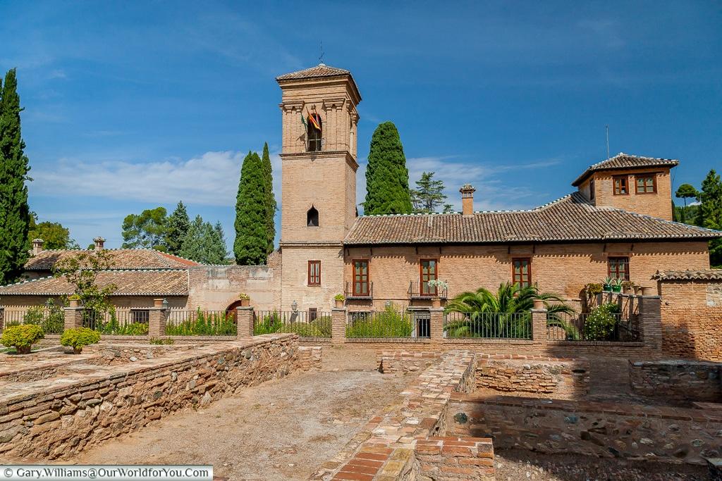 The Parador de Granada, Granada, Spain