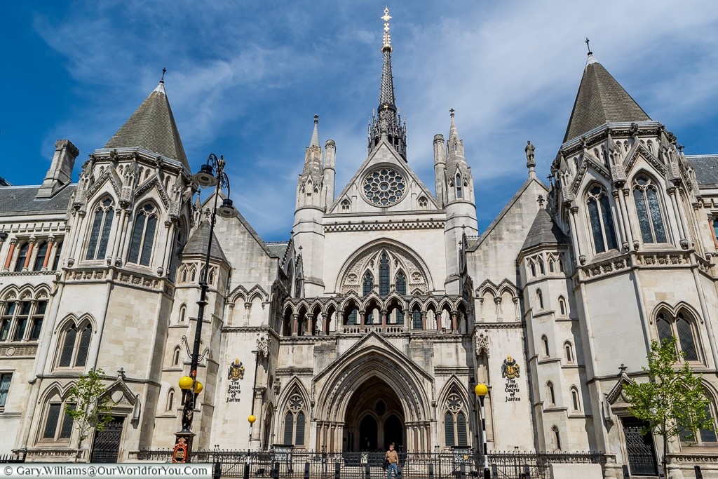 The Royal Courts of Justice, London, England, UK