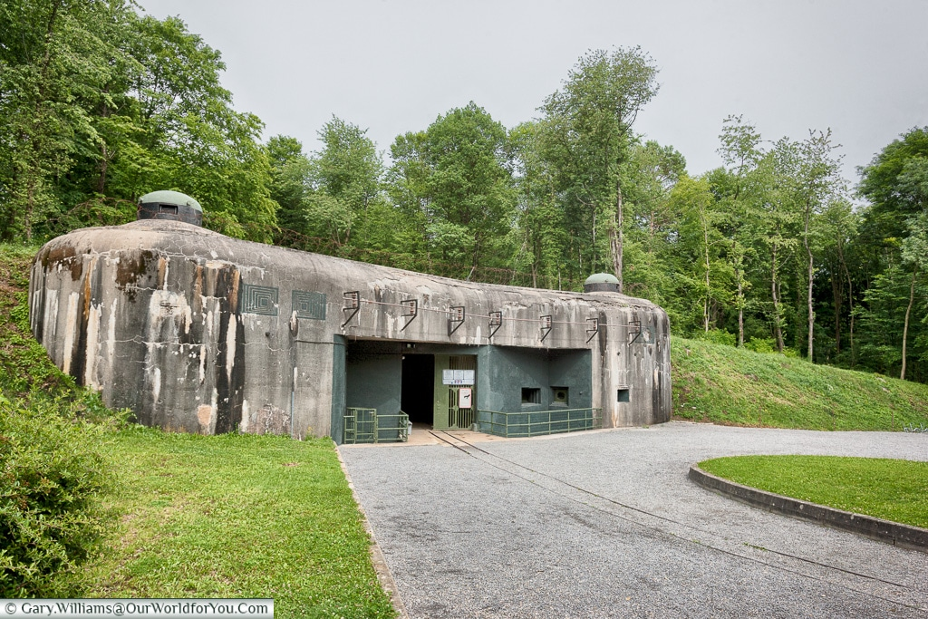 Defences as part of the Maginot line, Alsace, France