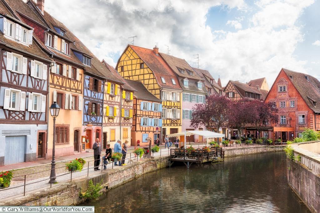 La Petite Venise, Colmar, Alsace, France