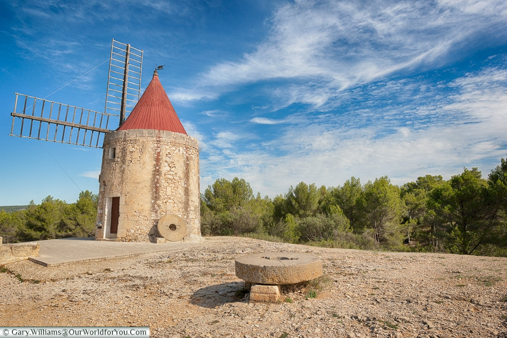 The Moulin De Daudet, Fontvieille, Provence, France