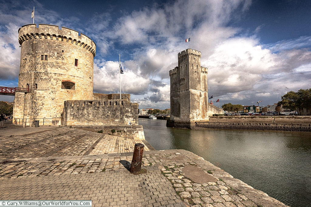 The new port of La Rochelle, France