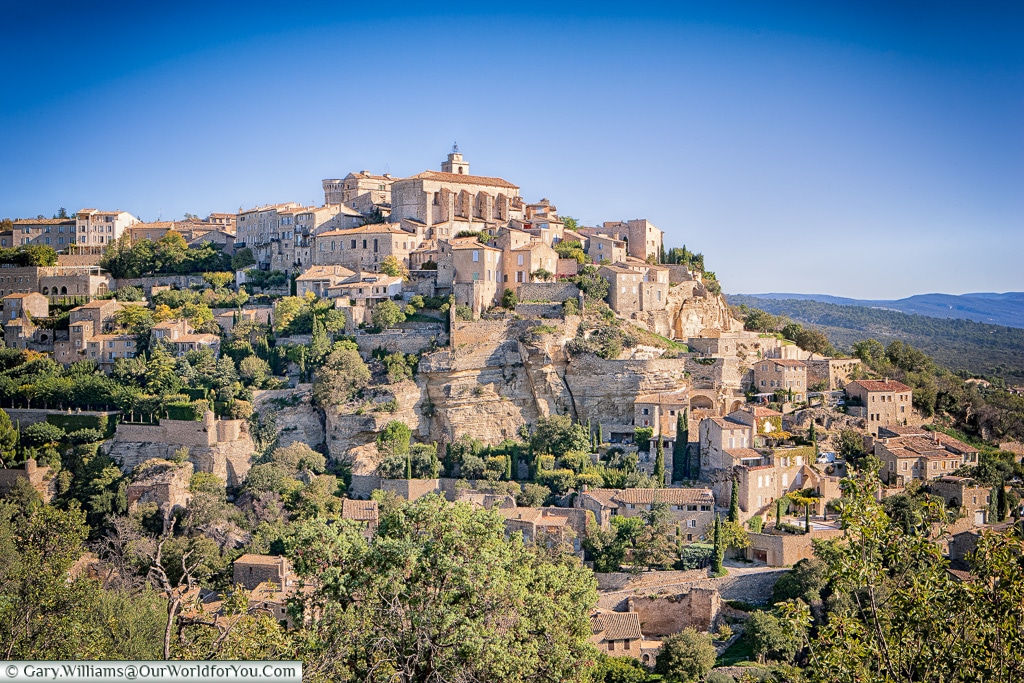 The town of Gordes, Provence, France