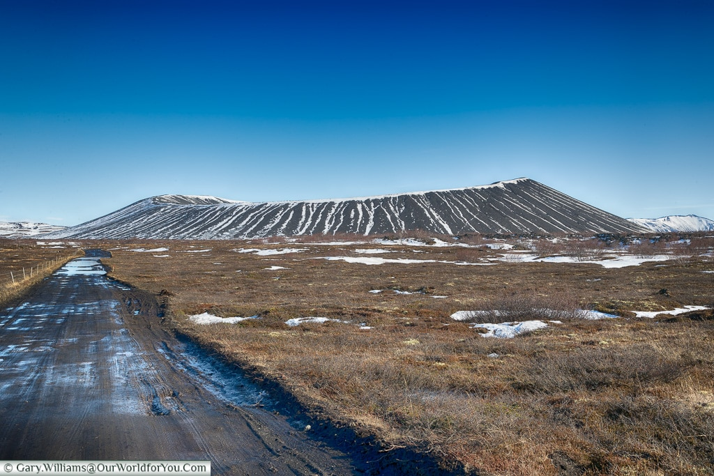 The Hverfjall Crater, Iceland