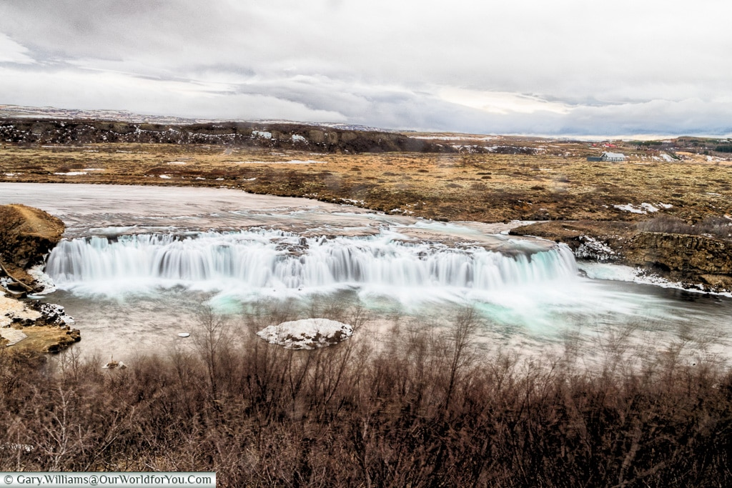 The faxi waterfall - 2018, Iceland