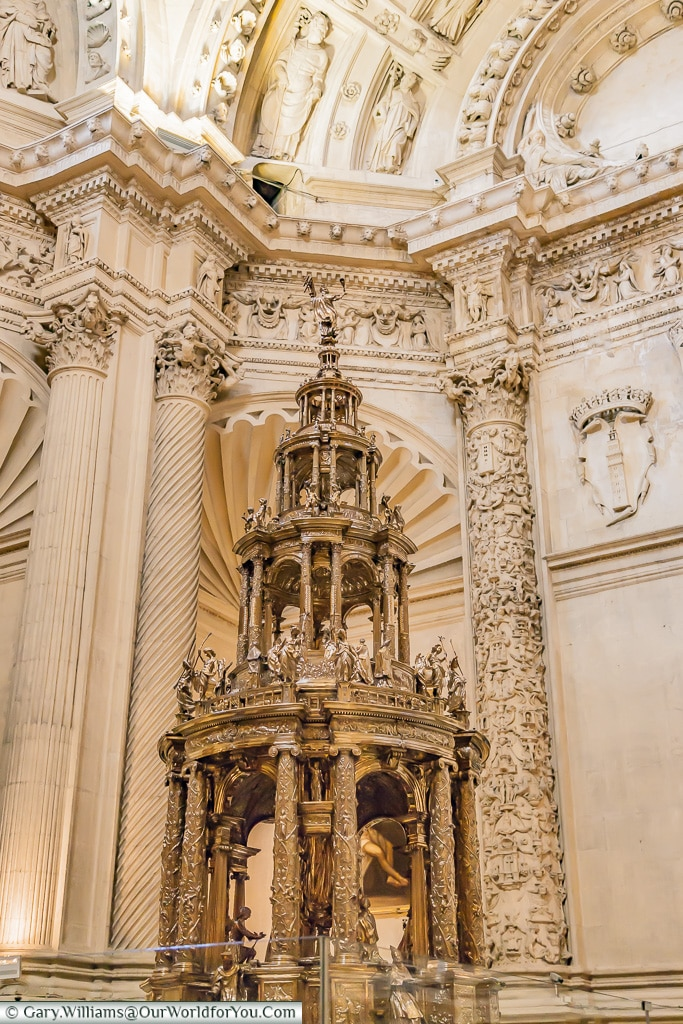 Treasures within the Cathedral, Seville Cathedral, Seville, Spain