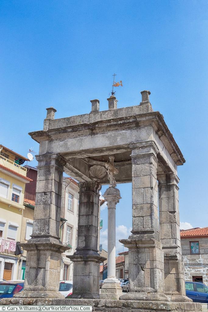 D. João I monument, Guimarães, Portugal