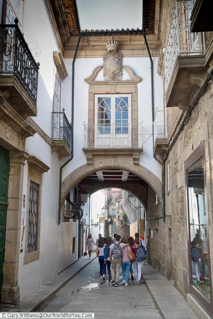 Rua de Santa Maria, Guimarães, Portugal